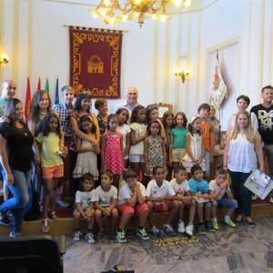 14 niños saharauis pasa el verano en Mérida